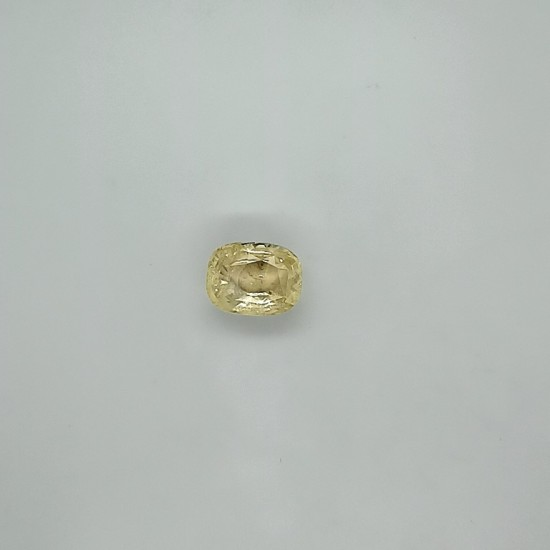 Yellow Sapphire (Pukhraj) 10.07 Ct Good quality